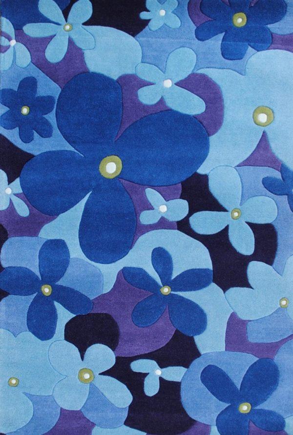ht flowers azul